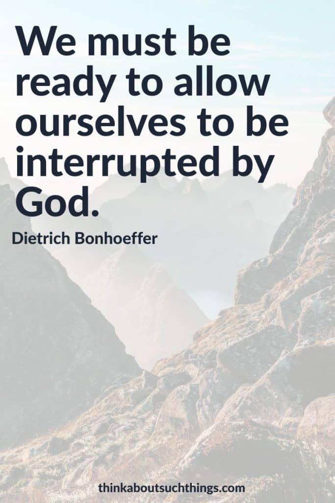 Famous Dietrich Bonhoeffer quotes