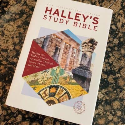 Front view of Hardcover Halley's Study Bible