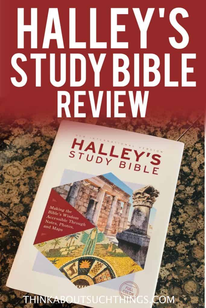 Halley's Study Bible Review