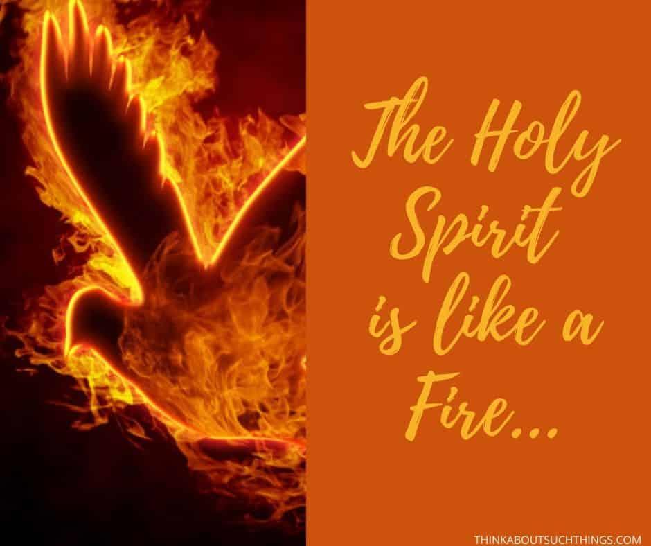 Holy Spirit Fire Symbol
