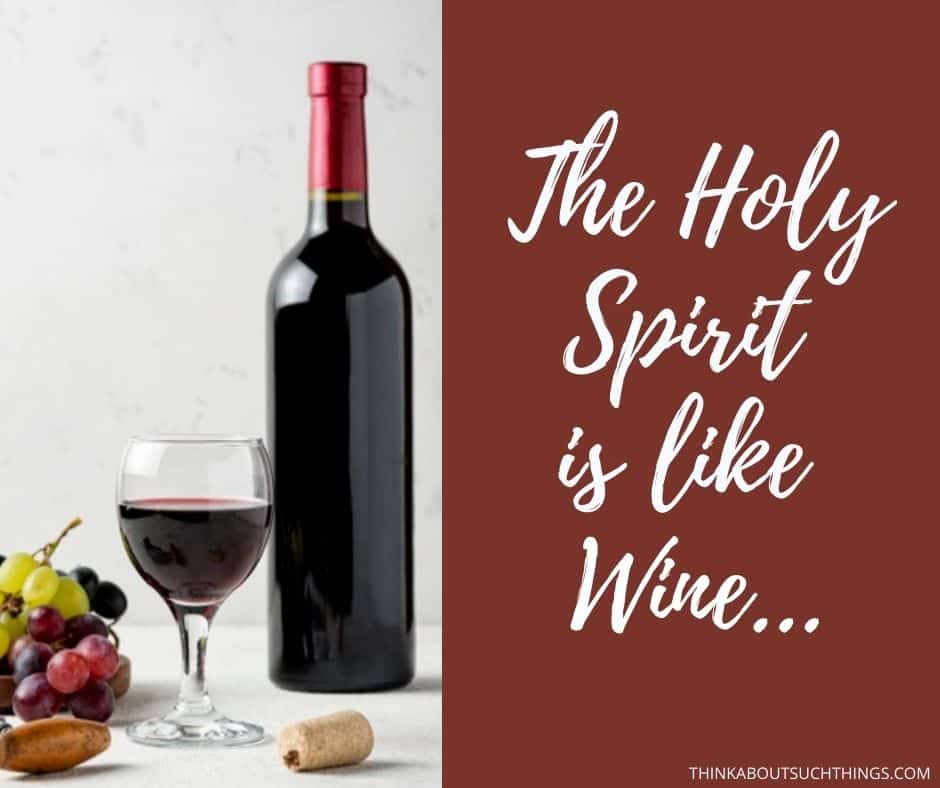 Symbols of the Holy Spirit : Wine