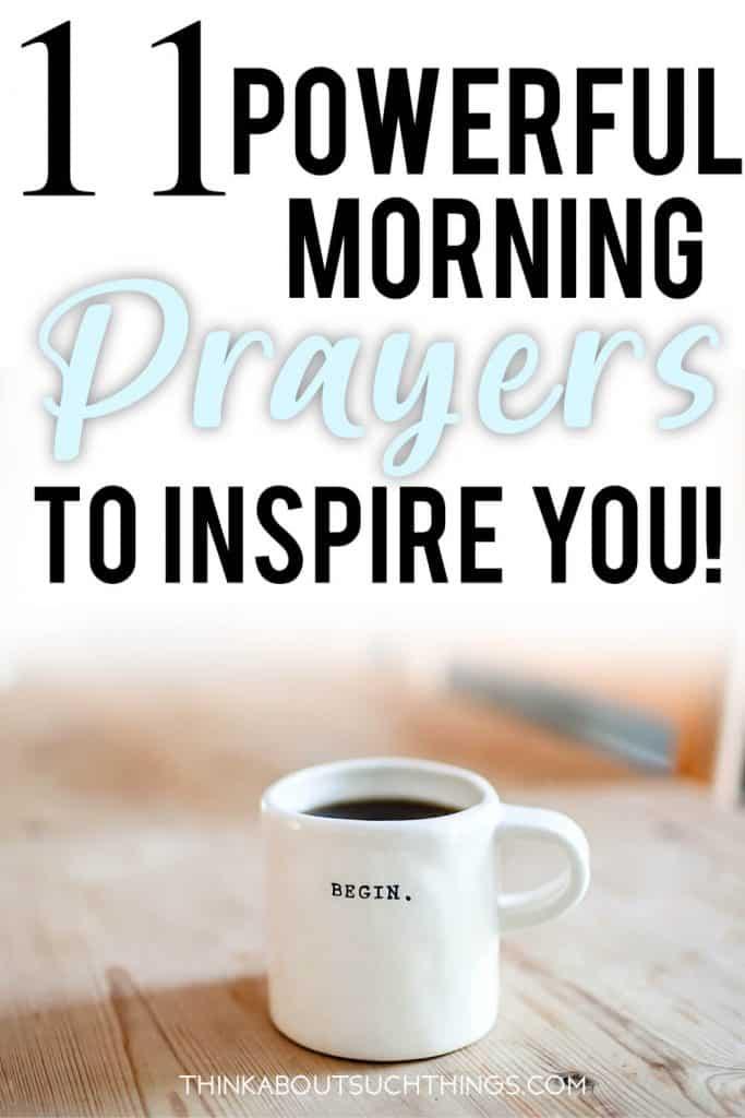 powerful morning prayers