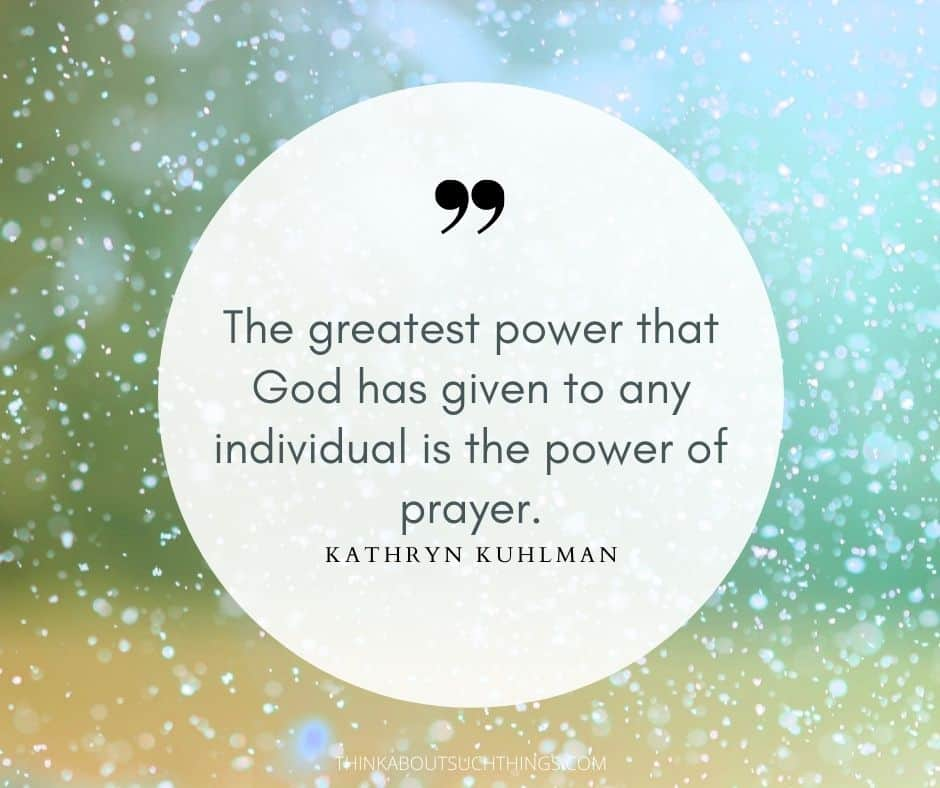 Kathryn kuhlman quotes on prayer