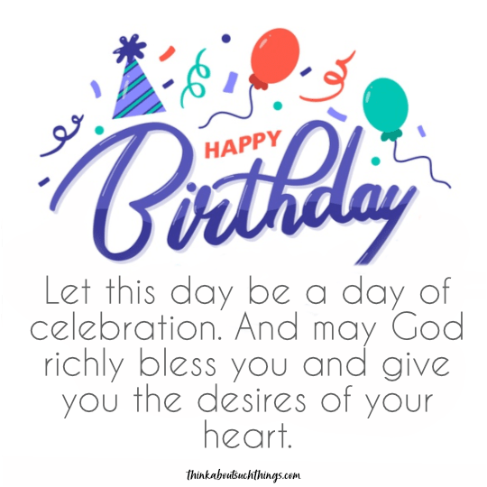 religious birthday message