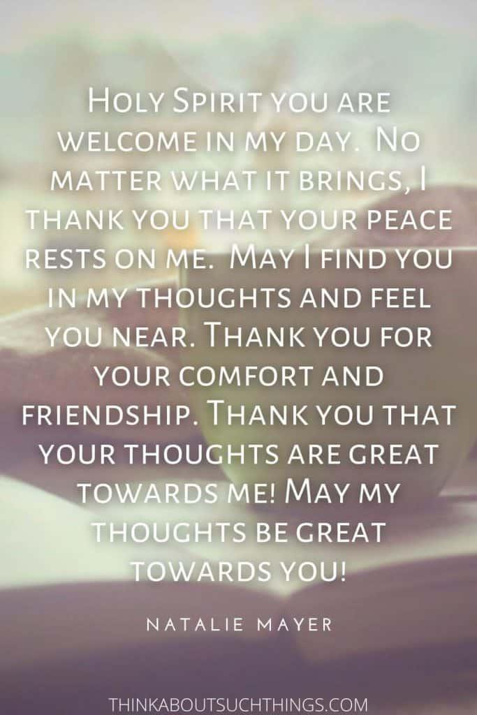 short beautiful morning prayer