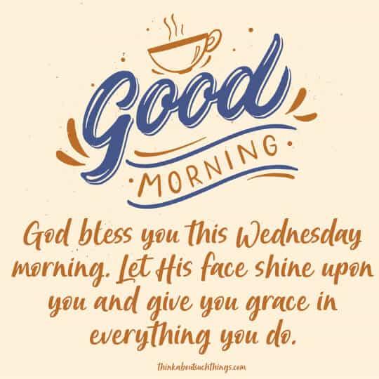 wednesday morning blessings