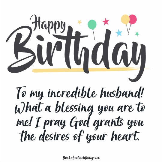 christian birthday wishes for husband