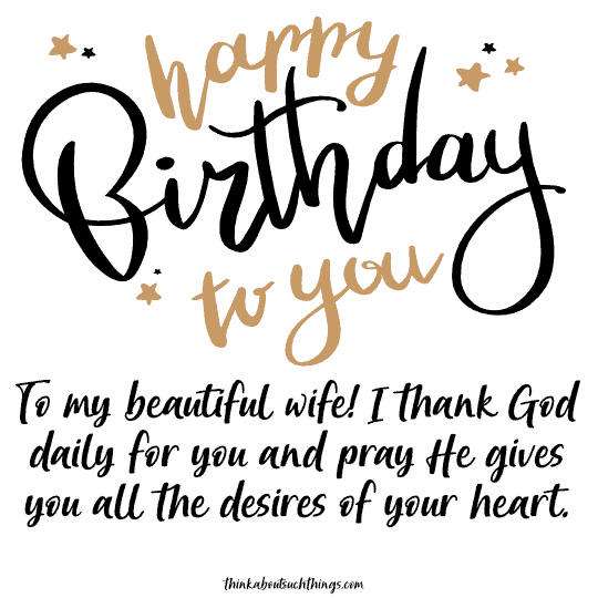 biblical birthday quotes for wife