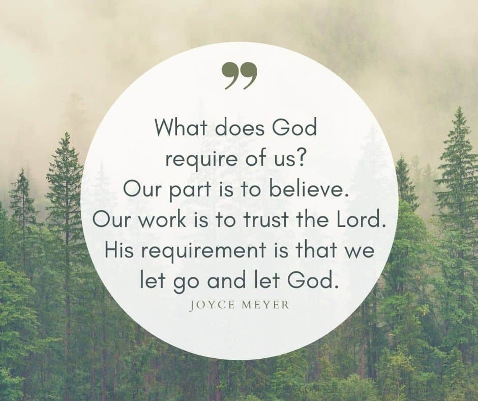 Let god quotes Joyce Meyer