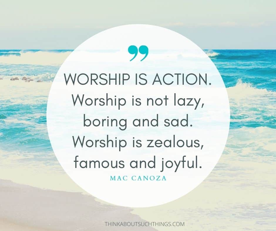 quotes on worship christian