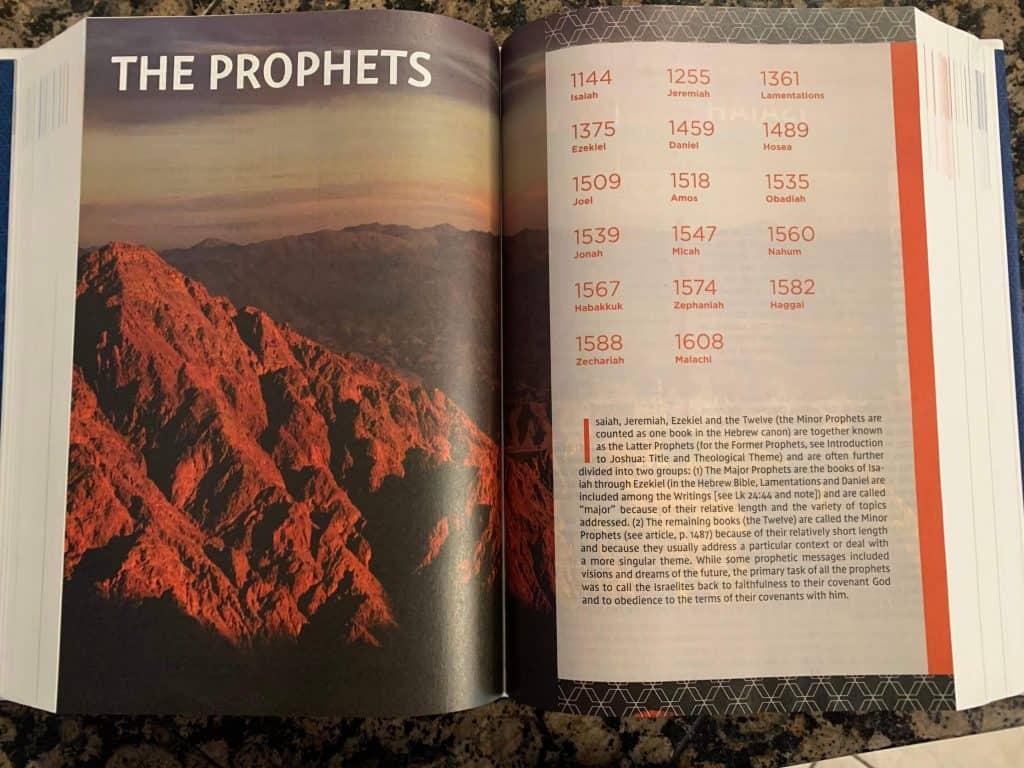 NIV Study Bible prophets