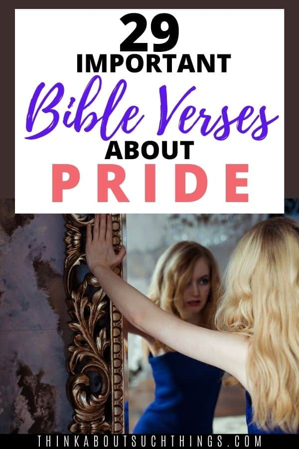 Bible Verses about Pride