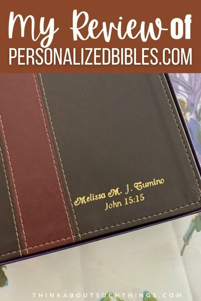 Personalizedbibles.com Review