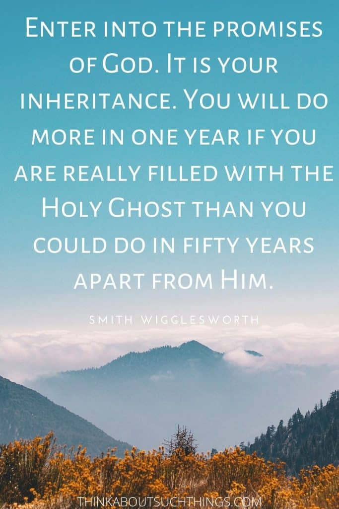 Holy Spirit Quote Smith Wigglesworth
