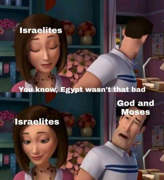 Christian meme Israelites