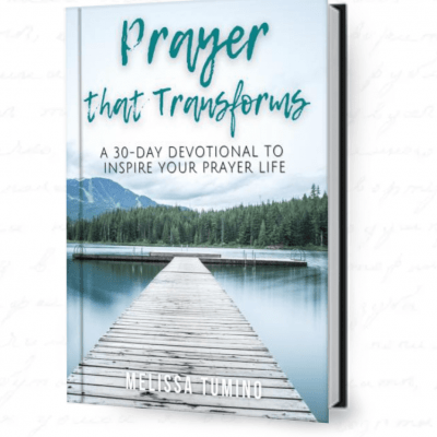 prayer that transforms melissa tumino