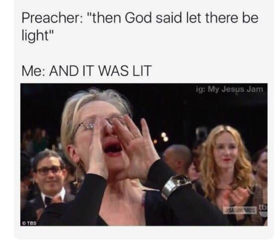church meme
