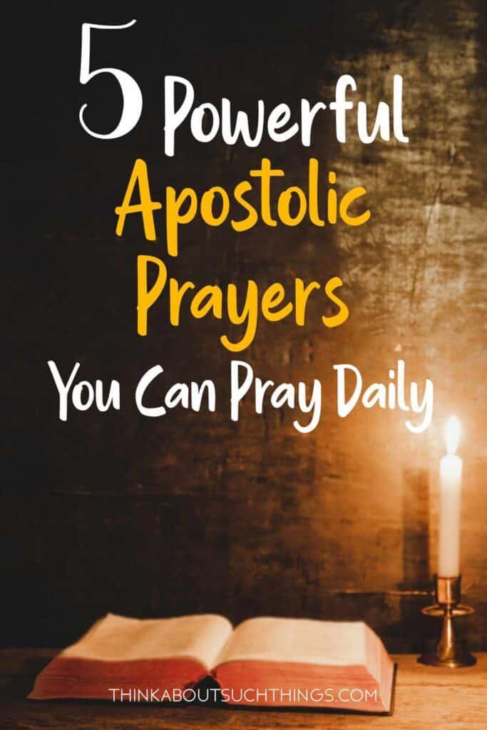 Apostolic Prayers