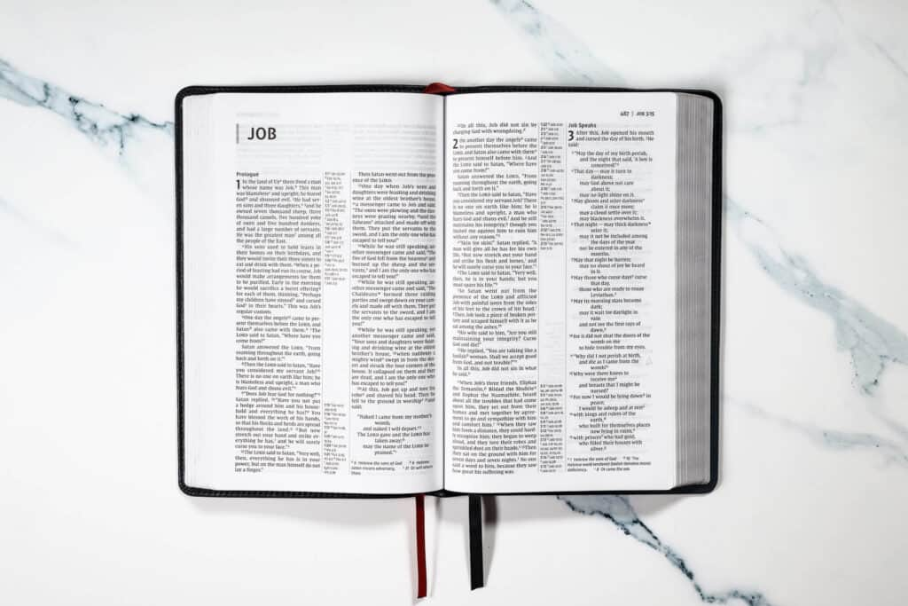 Job Bible Lesson