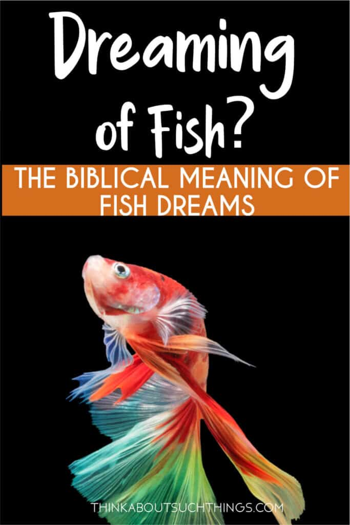 biblical meaning of fish in dream
