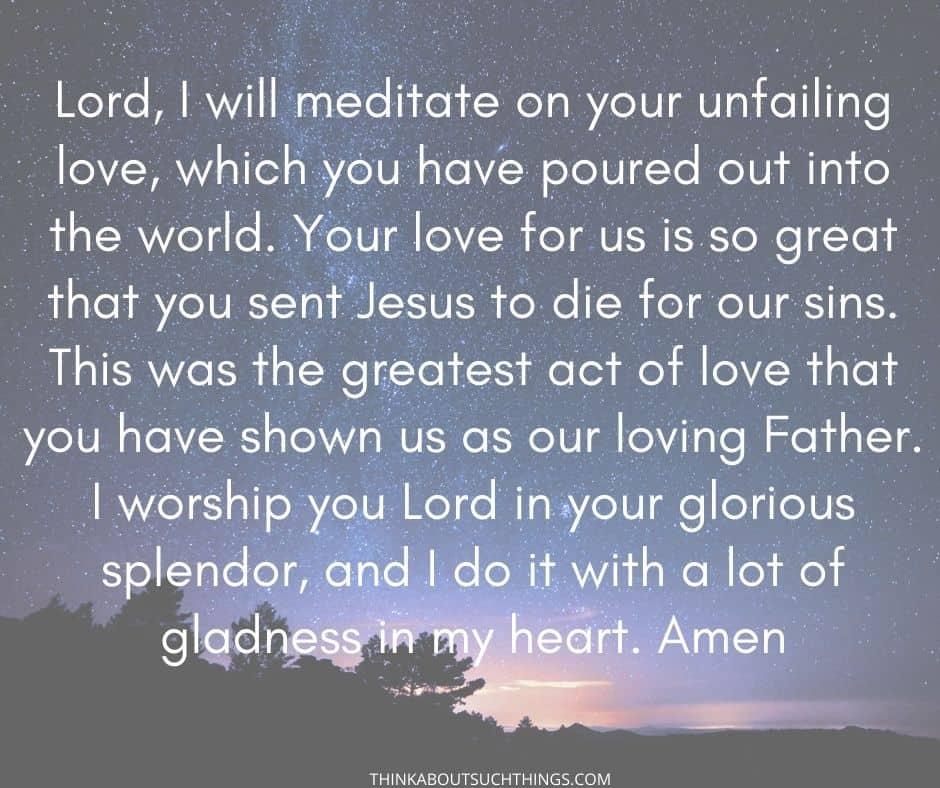 Adoration prayers