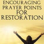 Prayer Points for Restoration