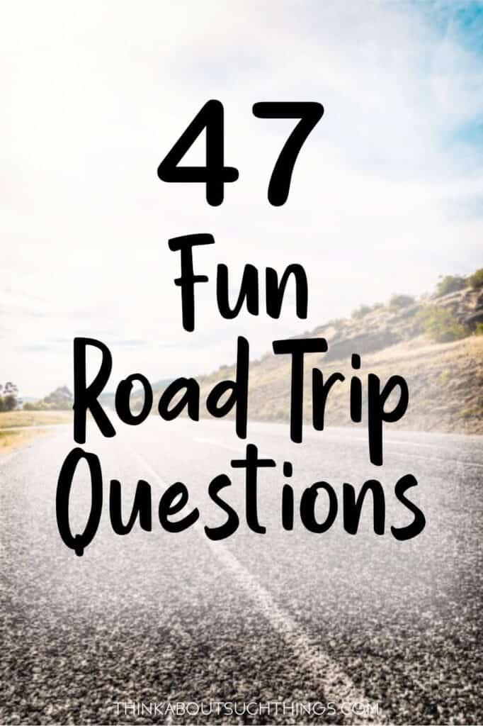 road trip questions