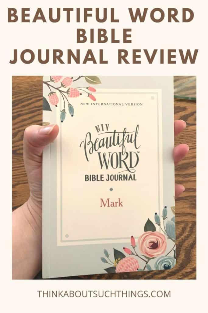 Beautiful Word Bible Journal - Mark (Review)