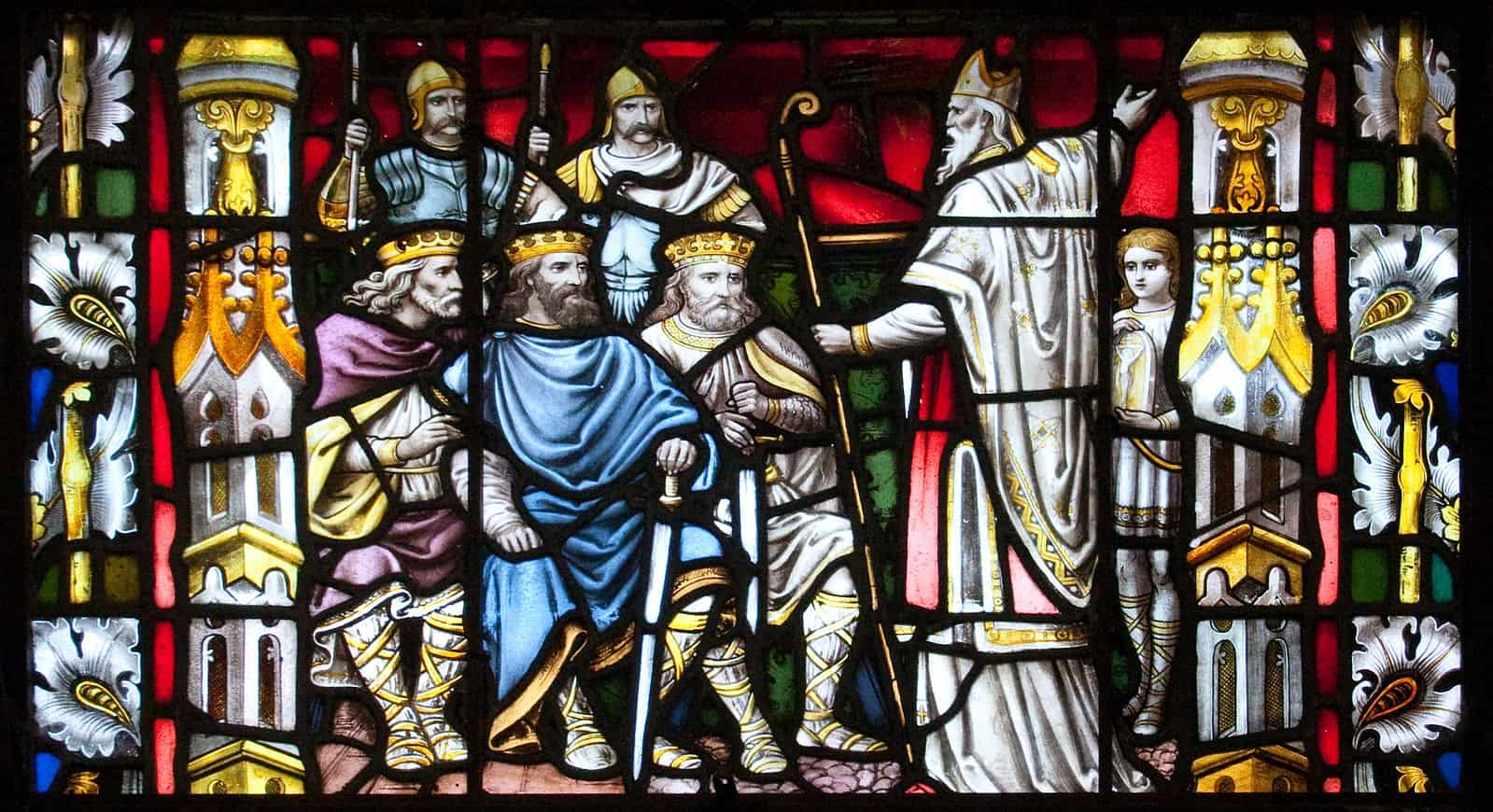 St Patrick Preaching to the Kings