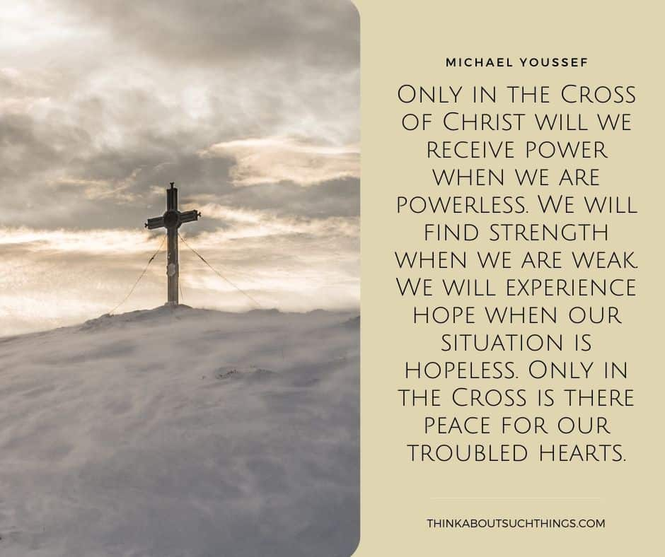 cross of christ quotes