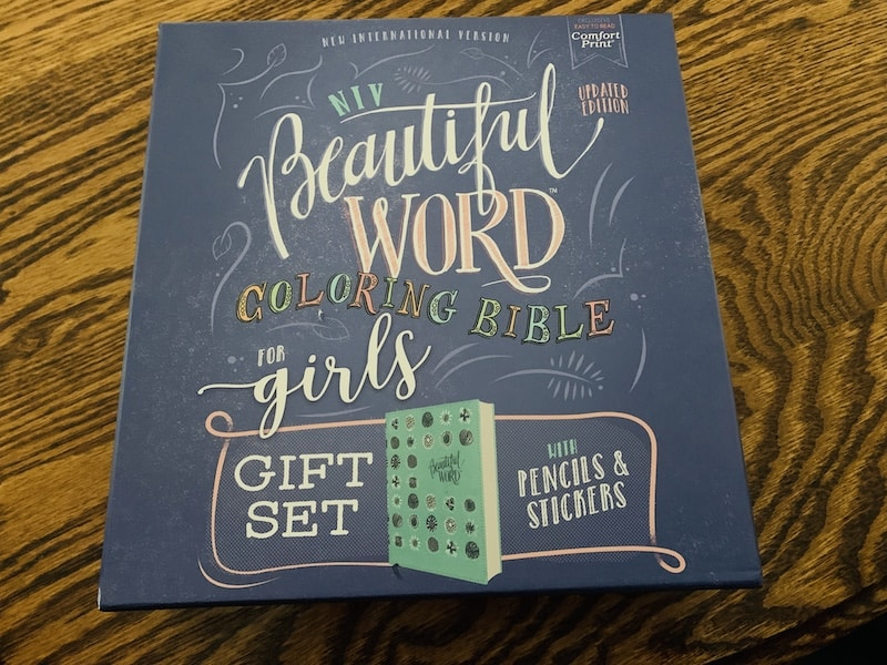 Beautiful Word Bible for girls gift set Review