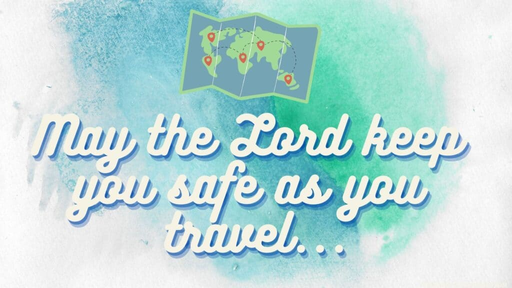 prayer for a safe trip