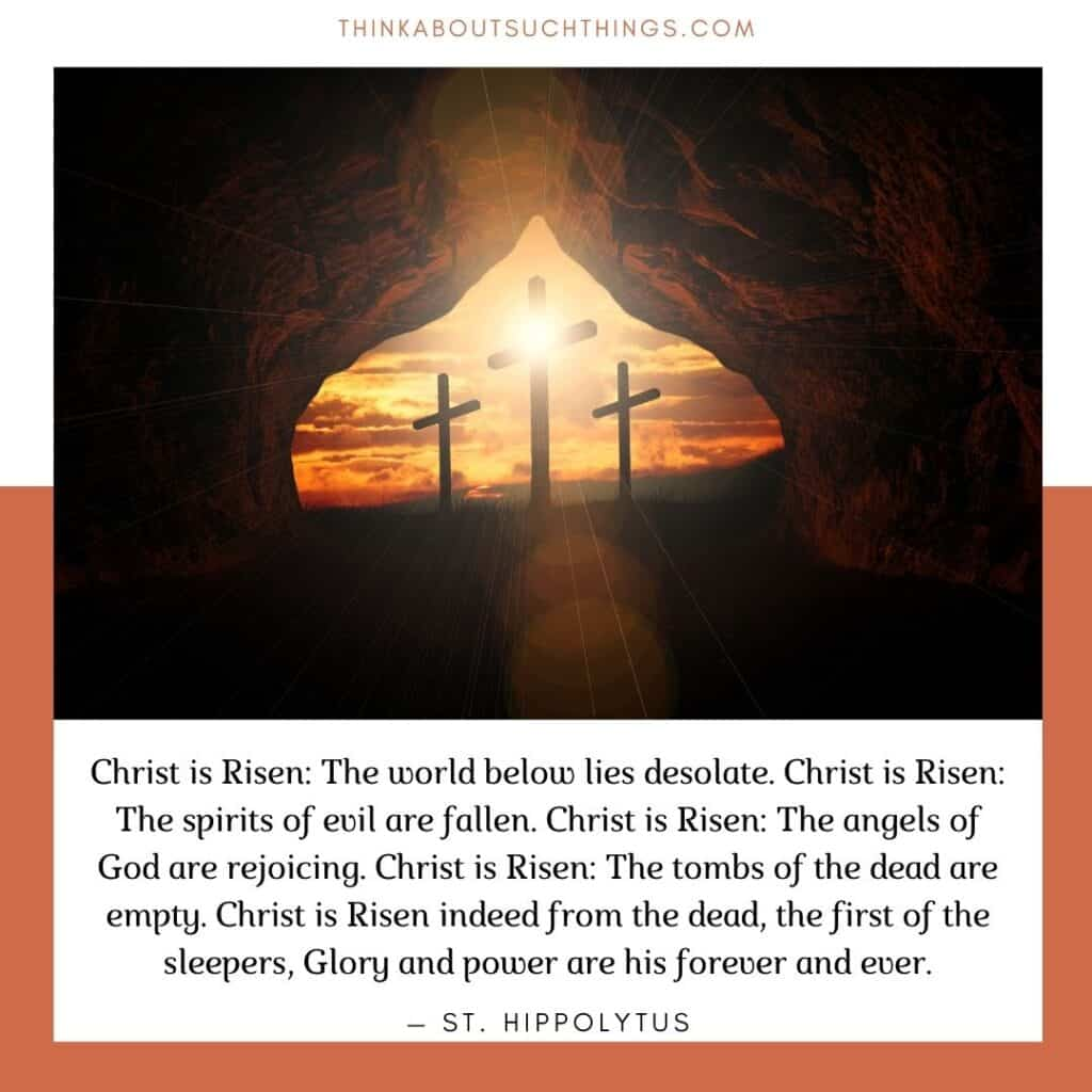 ancient easter prayers