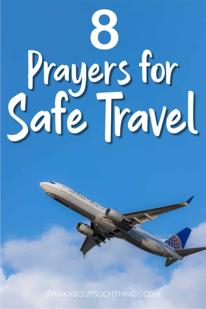 prayers for safe travels