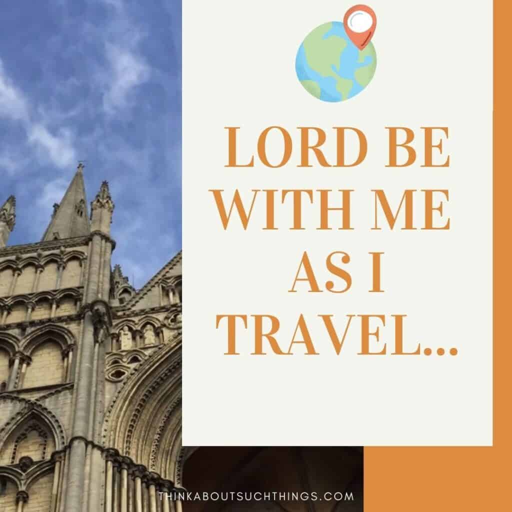 Prayer for travellers