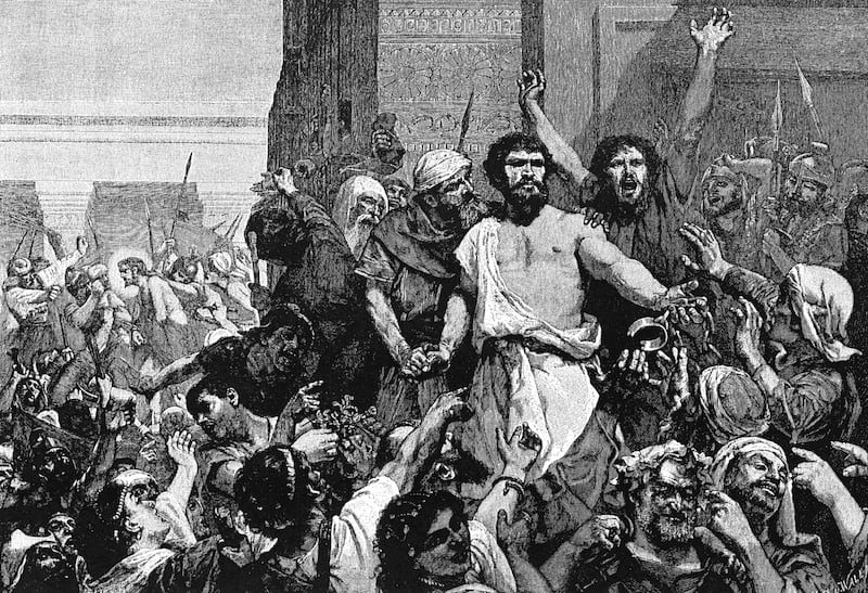 Barabbas from the Bible