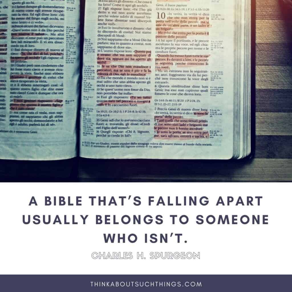 Quotes about reading the bible by charles spurgeon