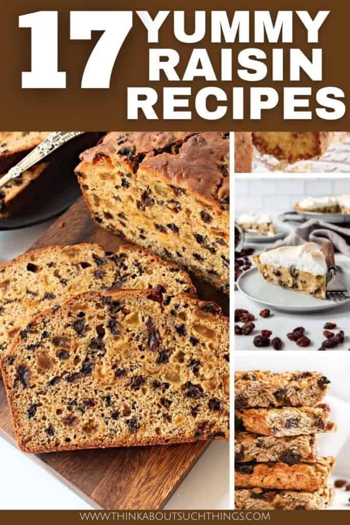 Raisin Recipes