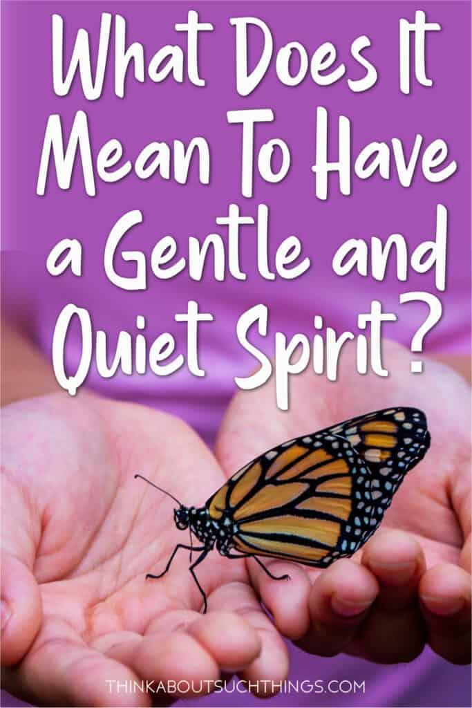 Gentle and Quiet Spirit