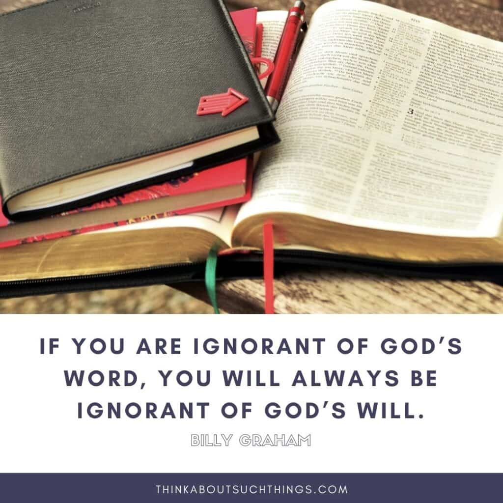 quotes on the Bible by Billy Graham