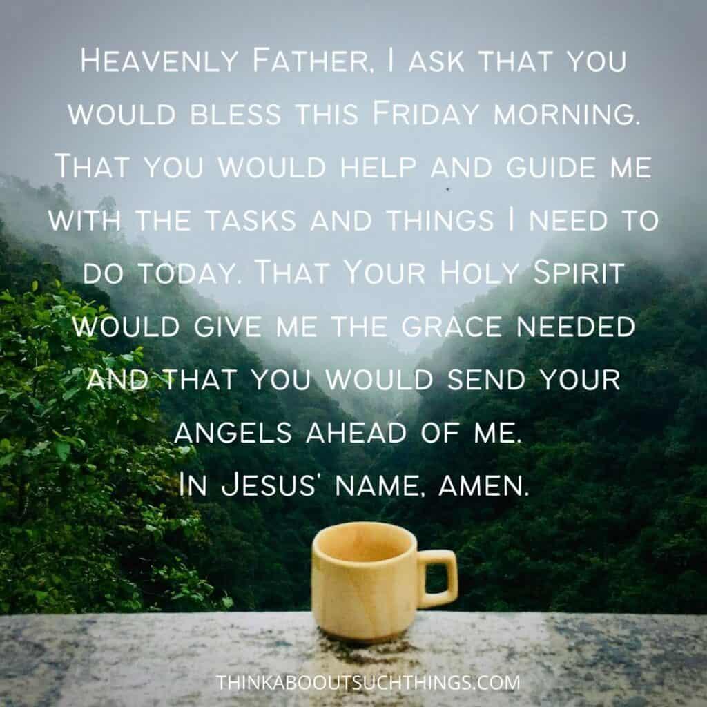 Friday morning prayer