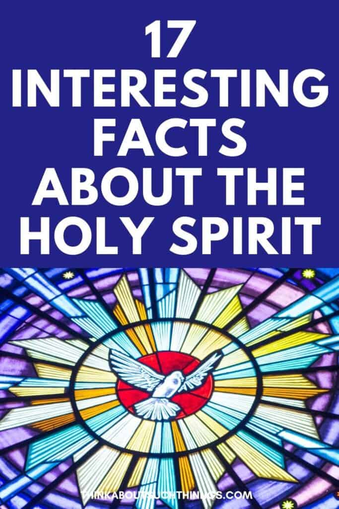 Facts About the Holy Spirit
