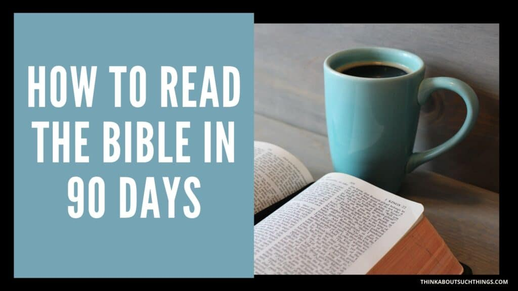 How long does it take to read the bible in 90 days?