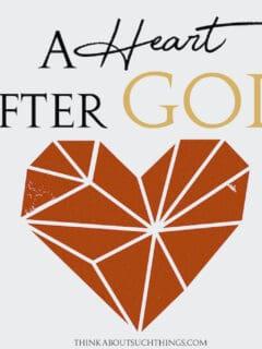 god looks on the heart