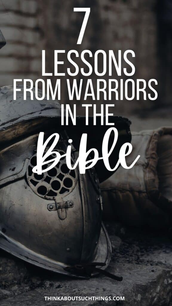 Warriors in the Bible