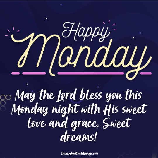 Monday night blessings