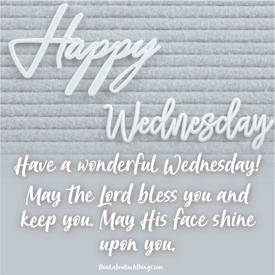 wednesday blessings image