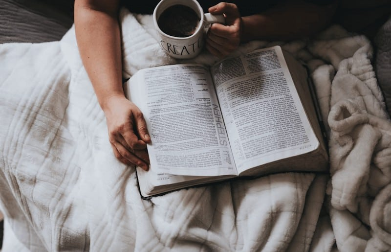 Command your day through prayer and the Bible