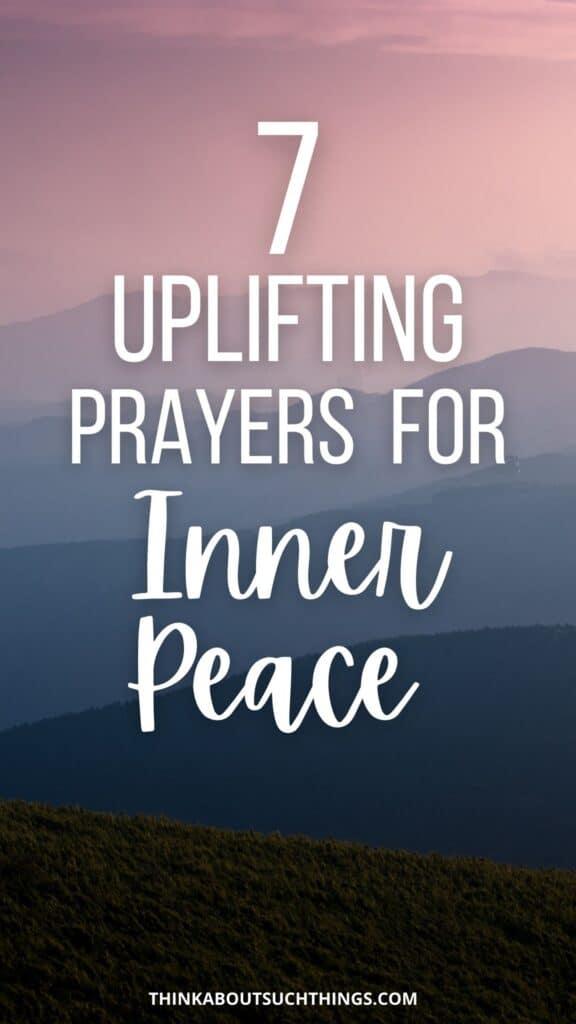 Prayers for Inner Peace