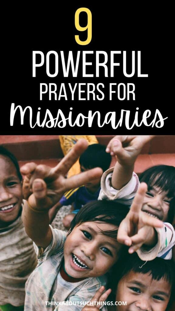 Prayers for Missionaries